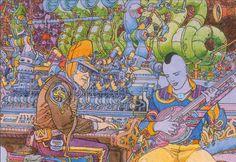 Jean Giraud, Manado, Illustrations, Illustration Art, Moebius Art, Moebius Comics, Geof Darrow, Bilal, Ligne Claire