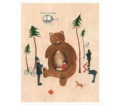 Sweet Illustrations by Anna and Nathan Bond of Rifle Paper Co.