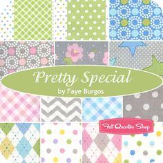 Pretty Special Yardage Faye Burgos for Marcus Brothers Fabrics - Fat Quarter Shop