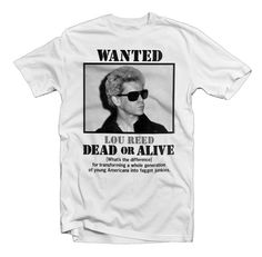 Lou Reed - Dead or Alive What's the Difference by DasBootleg on Etsy, $20.00