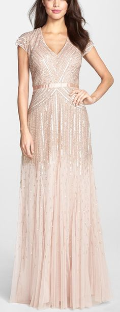 Embellished gown by Adrianna Papell http://rstyle.me/n/vkm22n2bn