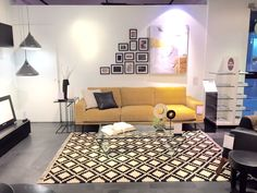 This is how cool our showroom gets when we display a yellow sofa! BoConcept Altavista Mexico