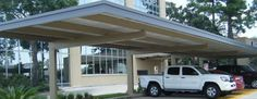 Cantilever Parking Commercial Awnings Residential Carport Patio Shade Structure Canvas Metal Retractable Awning Commercial Awning Residential Awning Katy Texas Conroe Texas The Woodlands Huntsville Livingston LufkinTexas