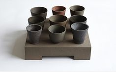 Julian Stair - I want to know these glaze/slip/clay body recipes!