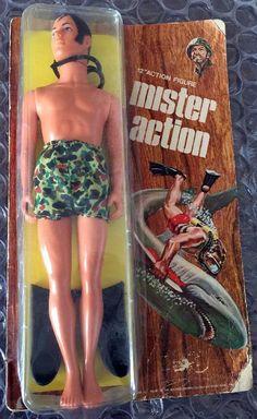 Mister Action, LJN 1970s
