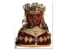French reliquary bust