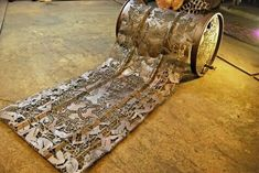 Artist/welder Cal Lane ~ turning steel into lace ~ http://www.nytimes.com/2007/12/30/realestate/30habi.html