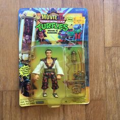 TMNT III Movie Kenshin Mint on card, card is a little bent. Great condition for a super rare toy that rarely pops up on the market. Ninja Turtle Figures, Ninja Turtle Toys, Ninja Turtles, Neca Figures, Action Figures, Tmnt Characters, Cartoon Toys, Card Card, Teenage Mutant Ninja