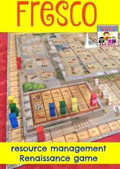 Fresco board game, a great way to learn about the Renaissance and the lives of Renaissance painters