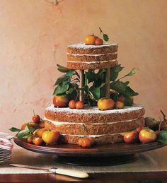 Naked Wedding Cakes ideas, 25 Rustic Naked Wedding Cakes Ideas Photos