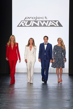 The stunning Project Runway Judges.