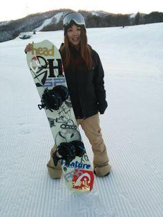 岡田沙織選手 Saori Okada  #snowboarder #snowboard #スノーボード #スノーボーダー #岡田沙織 #SaoriOkada