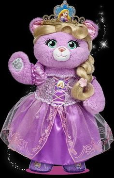 Limited edition build a bear! Rapunzel