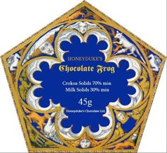Harry Potter Chocolate frog box pattern