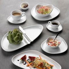 Originalt og organisk er nøgleordene for Gourmet stellet fra Créton Maison. Dæk op med Gourmet, og lad dit middagsbord skille sig smukt ud.