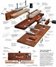 #1049 Micro-Adjustable Router Fence - Router Tips, Jigs and Fixtures