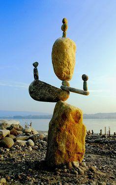 Printer Projects New York Code: 7413065768 Cairns, Land Art, Sculpture Metal, Stone Sculptures, Abstract Sculpture, Beach Rock Art, Stone Balancing, Modern Art, Contemporary Art