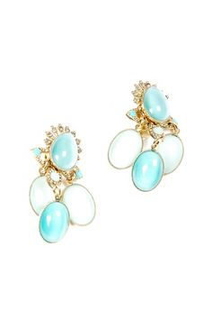 Robin's Egg Blue Earrings.