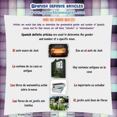 spanish definite articles practice quiz