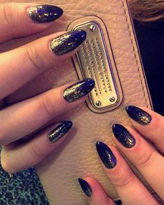 Gorgeous Nails By Aiden At Ng Sherman Oaks Gold Pretty Picoftheday