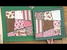 Quilting Quickly: Zoe's Play Day – Wonky Nine-Patch Quilt Pattern Machine Quilting Designs, Quilting Tips, Quilting Tutorials, Quilting Projects, Sewing Projects, Crazy Quilt Tutorials, Crazy Quilting, Diy Projects, Patchwork Tutorial