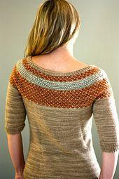 Ravelry: Yukiya Pullover pattern by Julia Trice