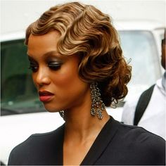 Vintage finger waves