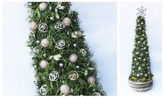 Shabby Chic Christmas Decorations - La Floreale di Stefania - www.laflorealedistefania.it #nataleshabbychic #shabbychic #shabbychiccristmas #shabbydecorations #shabbywinter