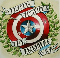 Captain America: Truth Justice's The American Way