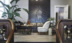 Konst och färg hemma hos danska tv-stjärnan - Sydsvenskan