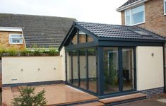 See Aspect Projects Glass Room & Glass Extension Gallery showing recent work we have completed around the UK. House Extension Plans, House Extension Design, Extension Designs, Glass Extension, Rear Extension, Extension Ideas, Extension Google, Bifold Doors Extension, Bungalow Extensions