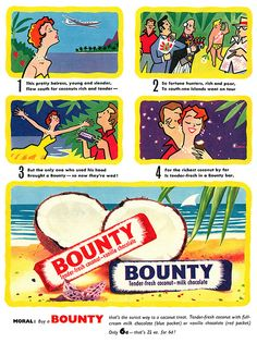 1956 Bounty ad | Flickr - Photo Sharing!