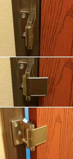 Instead Of A Door Chain Or Door Bar, My Hotel Had This As A Secondary Locking Mechanism