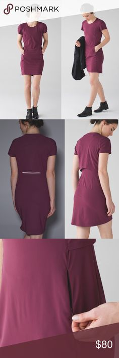 Lululemon &go Endeavor Dress Like new. No defect. Tag removed but it's lululemon size 6 (fits like Small). Smoke free pet free house. Ship out same day. lululemon athletica Dresses Mini