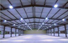 Prefabricated Light Steel Structure Aircraft Hangar