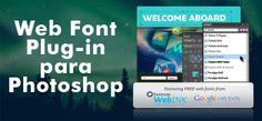 Web Fonts. Plugin para Photoshop.