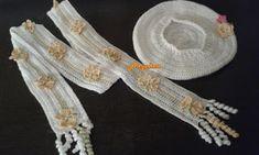 Angelica lucreaza: Set crosetat fular si basca - flulturi pentru prim... Crochet Clothes, Fashion, Moda, Fashion Styles, Fasion
