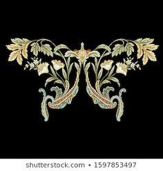 Textile Prints, Elegant, Pattern Design, Illustration, Flowers, Vectors, Artists, Pictures, Classy