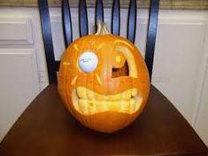 Golf Ball In The Eye Golf Halloween, Halloween Carnival, Halloween Jack, Halloween Home Decor, Outdoor Halloween, Halloween House, Spirit Halloween, Holidays Halloween, Halloween Crafts
