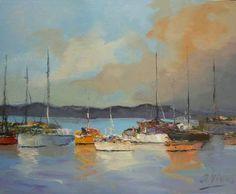 "Saatchi Art Artist Andres Vivo; Painting, ""Northumbria  Nº3984"" #art"