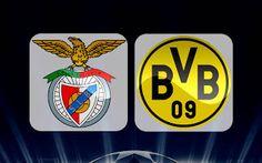 Portail des Frequences des chaines: Benfica vs Borussia Dortmund