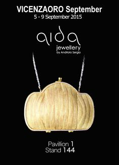 Aida Jewellery by Andriolo Sergio Coi Srl at VICENZAORO Pav. 1 Booth 144  iPhone6 Luxury Bag  Unique and customized masterpieces designed and handmade in Italy www.aidajewellery.com
