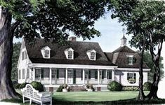 Elevation of Farmhouse  House Plan 86184