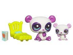 Littlest Pet Shop Cutest Pets Series 2 Figures Mommy & Baby Pandas