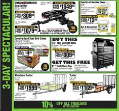 Mouse Bait, Log Splitter, Black Friday, Coupons, King, Ads, Check, Coupon