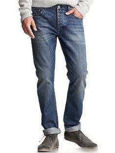 1969 slim fit jeans (medium blue wash) | Gap