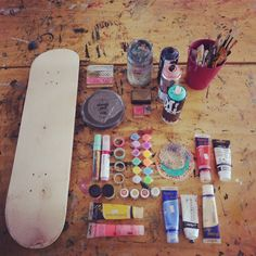 Paint your skateboard furniture with SKATE-HOME -  DIY (Do it yourself)