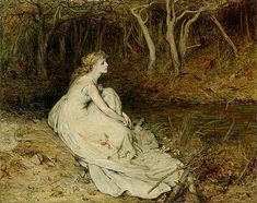 View Ophelia by Sir William Quiller Orchardson on artnet. Browse upcoming and past auction lots by Sir William Quiller Orchardson. Ophelia Painting, Images Esthétiques, Art Society, Pre Raphaelite, Poses, Drawing, Art History, Oil On Canvas, Fairy Tales