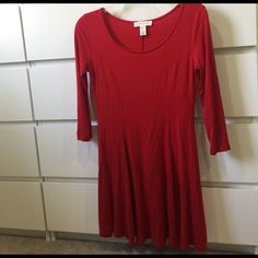 Red Forever 22 Dress
