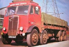 Old Classic Cars, Classic Trucks, Vintage Trucks, Old Trucks, Old Lorries, Routemaster, Old Wagons, Road Transport, Road Train